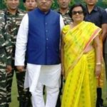 Ravi Shankar Prasad With His Wife