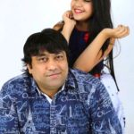 Reem Sameer Shaikh With Her Father