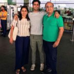 Rohan Hingorani with his parents