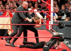 Ronda Attacked Alexa And Later Suspended By Kurt Angle