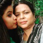 Rose Laskar with her Mother