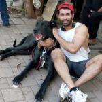 Sahil Singh Sethi Dog Lover