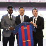 Samuel Umtiti joining Barcelona