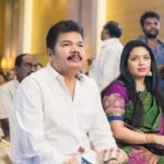 Shankar with his wife