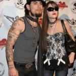 Sasha with Dave Navarro