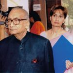 Shobhana Bhartia With Her Father