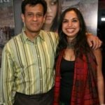 Shonali Bose with her Husband