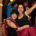 Shonali Bose with her cousin