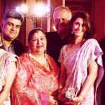Siddharth P Malhotra With His Family