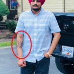 Sidhu Moose Wala Tattoo