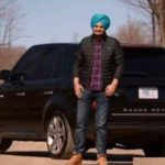 Sidhu Moose Wala with his Range Rover
