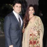 Sonali Bendre with her husband Goldie Behl
