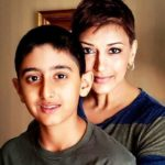 Sonali Bendre with her son Ranveer