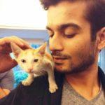 Sunny Kaushal, a cat lover