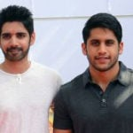 Sushanth with his cousin  Naga Chaitanya