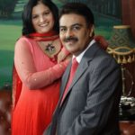 Sushil Mantri With His Wife Snehal Mantri