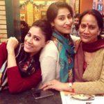 Swati Vatssa with her mother Rani Vats and sister Shruti Vatsa