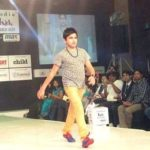 Syed Aman Mian Sharma walked the ramp at India Kids Fashion Week