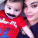 Tera Patrick with her daughter