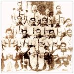 The 1932 Gold Medal Winning Indian Hockey Team