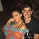 Thibaut Courtois with his ex-girlfriend Brittny Gastineau