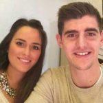 Thibaut Courtois with his ex-girlfriend Marta Dominguez
