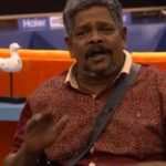V Suresh Thampanoor in the house of Bigg Boss Malayalam 1