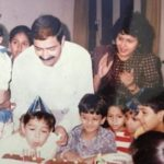 Varun Mitra With His Parents