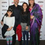 Vijay Krishna Acharya With His Wife And Daughters