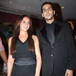Zayed Khan With Esha Deol