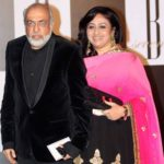 J. P. Dutta with his wife