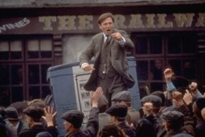 Liam Neeson in Michael Collins 1996