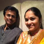 AR Murugadoss with his wife