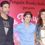 Aarav Kumar With His Father Akshay Kumar And Mother Twinkle Khanna