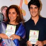 Aarav With His Grandmother Dimple Kapadia