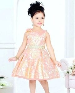 Aayesha Vindhara as a child model