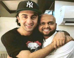 Abhijeet Shinde With Ranbir Kapoor
