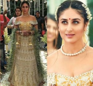 Abu Jani Sandeep Khosla wore by Kareena Kapoor in Veere Di Wedding