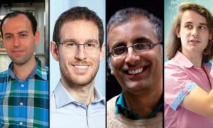 Akshay Venkatesh And Other Fields Medal Winners of 2018