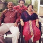 Anil Charanjeett With His Parents