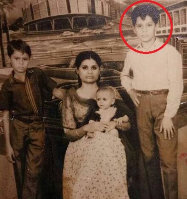 Arjun Firoz Khan in His Childhood