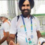 Arpinder Singh's coach S. S Pannu