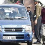 Arvind Kejriwal's car