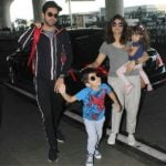 Tahira Kashyap with her husband and Kids