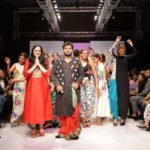 Babul Supriyo walked ramp for designer Agnimitra Paul