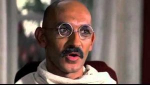 Ben Kingsley in the film 'Gandhi'
