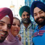 Bhawsheel Singh Sahni with his family