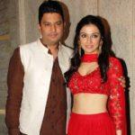Bhushan Kumar with his wife Divya Khosla Kumar