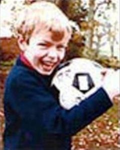 Chris Martin in his childhood