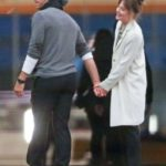 Chris Martin with his ex-girlfriend Dakota Johnson